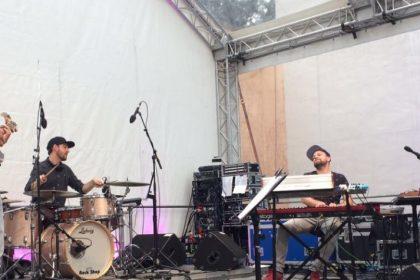 Roman Schuler mit Band